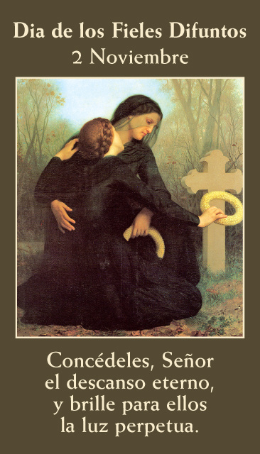 *SPANISH* All Souls Day Prayer Card